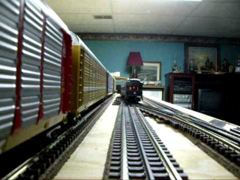 Ride around my MTH O scale train layout (part 2)