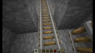 Minecraft - How to build: Rail trap [Trap #9]