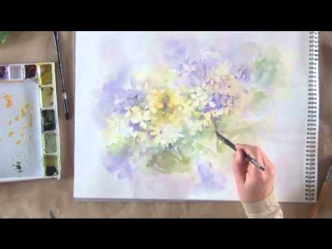 peindre un hortensia 7