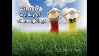 Everyday is a day of thanksgiving - GMWA Mass Choir