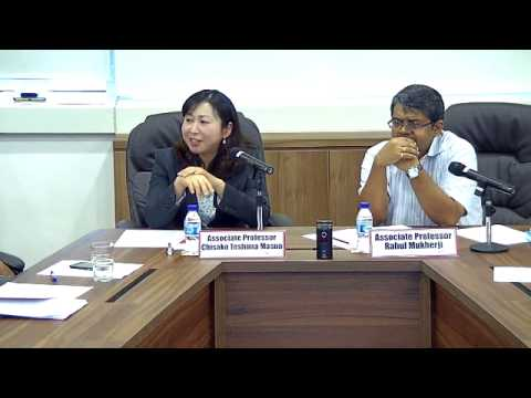 East China Sea: Negotiations and Issues Between Japan and China - Part 2 (8 Jan 2015)