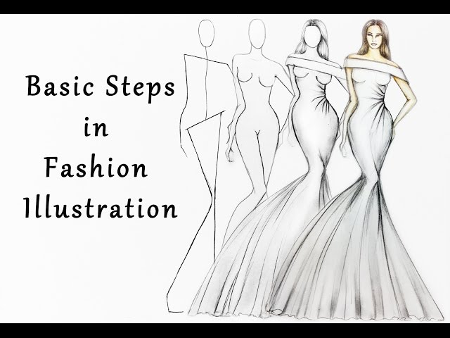 Steps in Fashion Illustration thumbnail