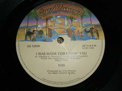 Kiss I Was Made for Lovin' You, Australian 12 inch Disco Version