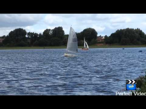 Solo Sailing at Aldridge Sailing Club