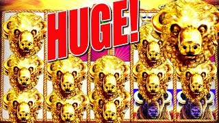 ★ HUGE MAX BET WIN ★ Count Those Buffalo Gold Heads!   Slot Traveler