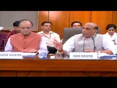 Joint Press conference by Shri Rajnath Singh & Shri Arun Jaitley on the special package to J&K.