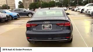 2018 Audi A3 Sedan Metairie LA LOA024565