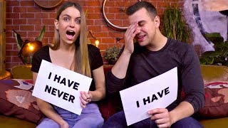 NEVER HAVE I EVER WITH MY GIRLFRIEND - REVEALING OUR SECRETS!
