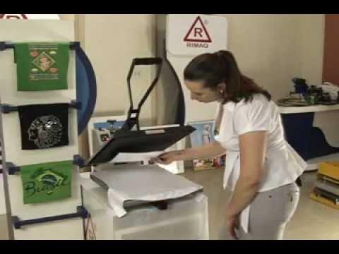 Máquina de Estampar Stampcor Rimaq - Estampa camisetas, chinelos e mais de 50 produtos