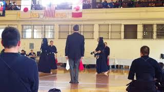 Cleveland Kendo Tournament 2018 (Godan and up) Hill Final