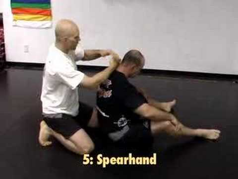 A Rear Naked Choke Tutorial Image 1