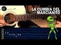 Como tocar La Cumbia del Marcianito 100% Real no fake en Guitarra | Tutorial Punteo TABS MP3