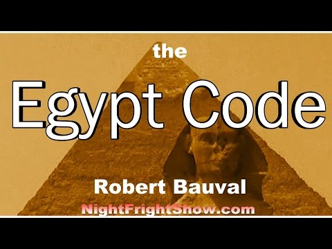 Pyramids Mystery Secrets Code video Robert Bauval Egypt Giza Night Fright Show / Brent Holland