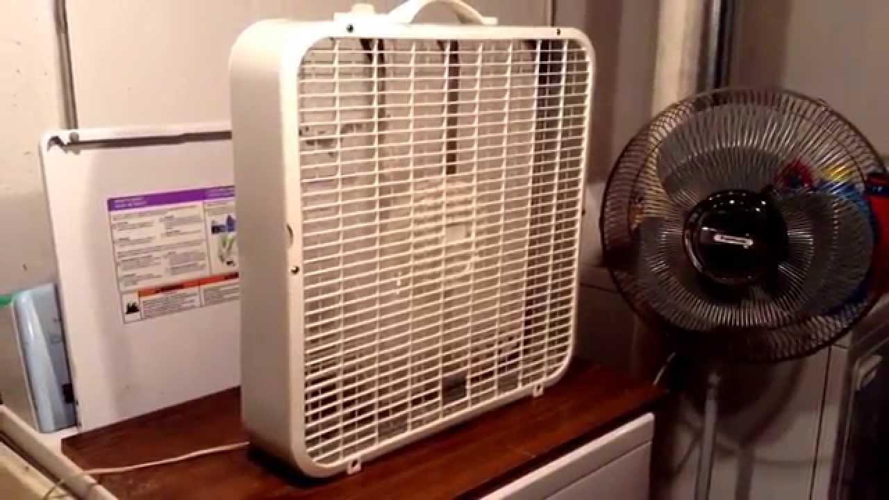 Lakewood Box Fan 20 : Lakewood quot box fan model dy youtube
