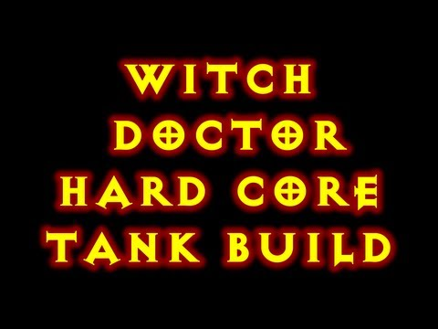 Diablo 3 Hard Core Tank Witch Doctor Debuff Build 1.0.8