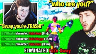 BUGHA *EMBARRASSES* FaZe Clan in TOURNAMENT! (Fortnite Trios)