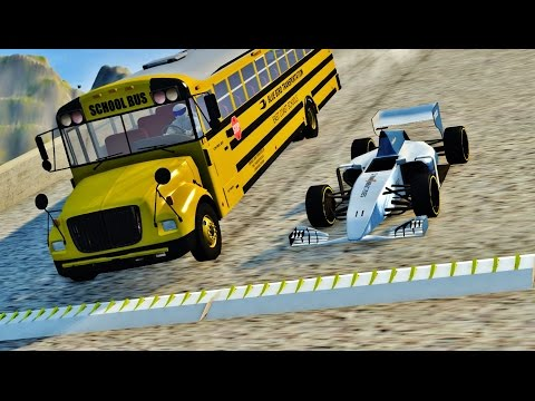 BeamNG Drive SPIKE STRIP HIGH SPEED CRASHES #82