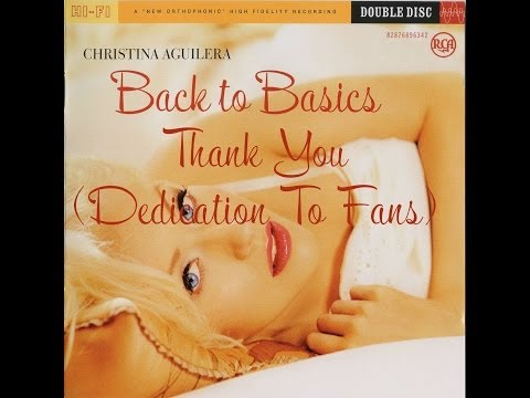 Christina Aguilera - Thank You (Dedication To Fans...)