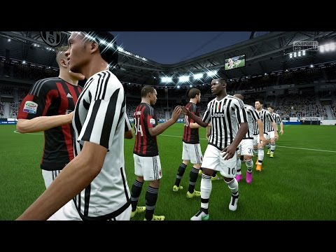 FIFA 16 | Juventus vs A.C. Milan - Full Gameplay (PS4/Xbox One)