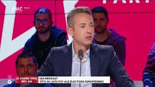Le Grand Oral de Ian Brossat, tête de liste PCF aux européennes - Les Grandes Gueules de RMC