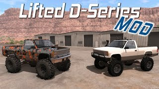 BeamNG.drive - Lifted Truck D-Series Mod - Mega Truck Off-Roading