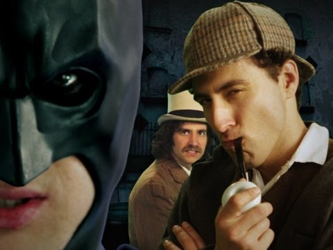 Batman Vs Sherlock Holmes. Epic Rap Battles Of History Season 2. video