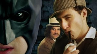Batman vs Sherlock Holmes. Epic Rap Baes of History Season 2.