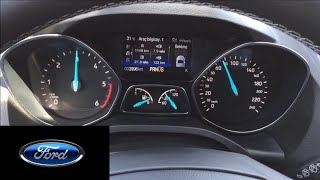 New Ford Kuga | Escape 1.5 TDCI 120 Hp Powershift Acceleration