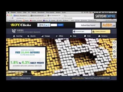 0.037 Bitcoin Semanales Usando Dos Paginas 2015