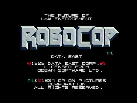 Robocop Arcade Game - Playthrough - Deathless