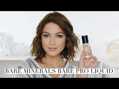 bareMinerals Bare Pro Liquid Foundation Review   Shelbey Wilson