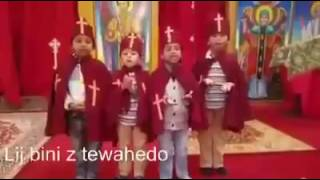 Beautiful kids praising lord