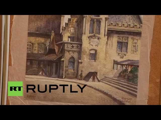 Germany: This painting by HITLER could sell for over $60,000