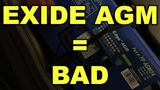 Why You Shouldn't Buy an Exide Edge AGM Battery - PSA