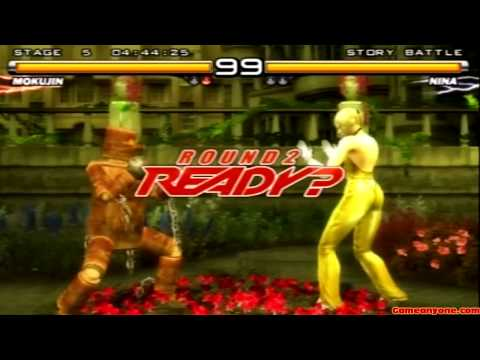 Tekken 5 - Story Battle - Mokujin Playthrough video