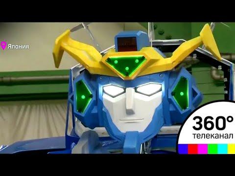 В Японии представили первого в мире робота-трансформера