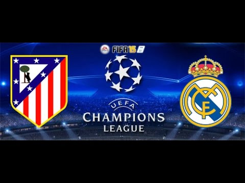 Fifa 15 Champions League 1/4 Quarter Final Atlético Madrid vs. Real Madrid Knockout Stage (XBOX ONE)