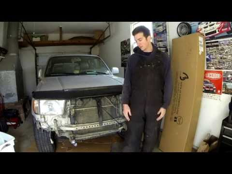 3rd Gen Toyota 4runner Project: Bumper Removal and Replace