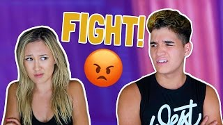 COUPLES FIRST FIGHT!