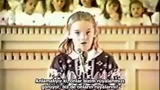 Rachel Corrie - 1989 - Dünya Çocuklarının Durumu Basın Konferansı