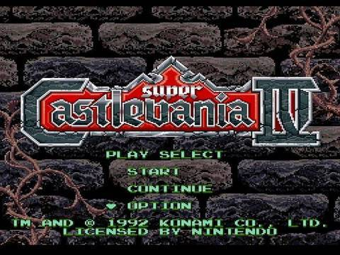 L'Epope Castlevania IV ( part 1 )