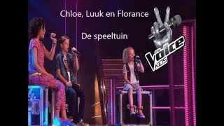 Chloe, Florence and Luuk - De Speeltuin - The Voice Kids 2015 - The Battles