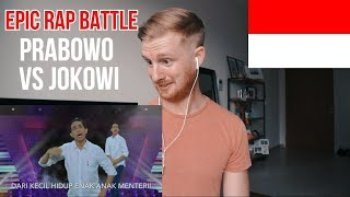 (WOW!!) Prabowo VS Jokowi - Epic Rap Battles Of Presidency // INDONESIAN MUSIC REACTION