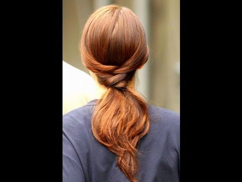 Blair's 5 Minute Ponytail from Gossip Girl
