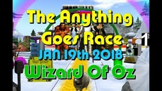anything goes Race 2018 01 19 Oz