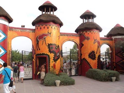 Арабская сказка - Тунис. Зоопарк Фригия