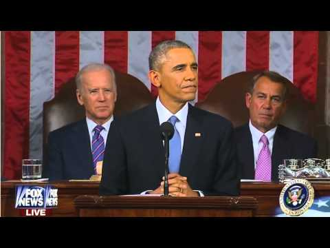 President Obama owns a Repulican heckler during State Of The Union Adress