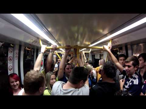 Adelaide United Vs Melbourne Victory Post Tram Sing off