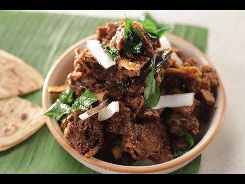 Mutton Pepper Roast Kerala Style | Sanjeev Kapoor Khazana