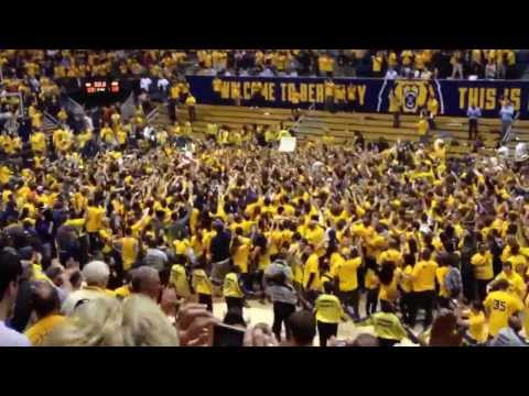 Cal Men's Basketball beats nationally ranked #1 Arizona Wildcats in Berkeley